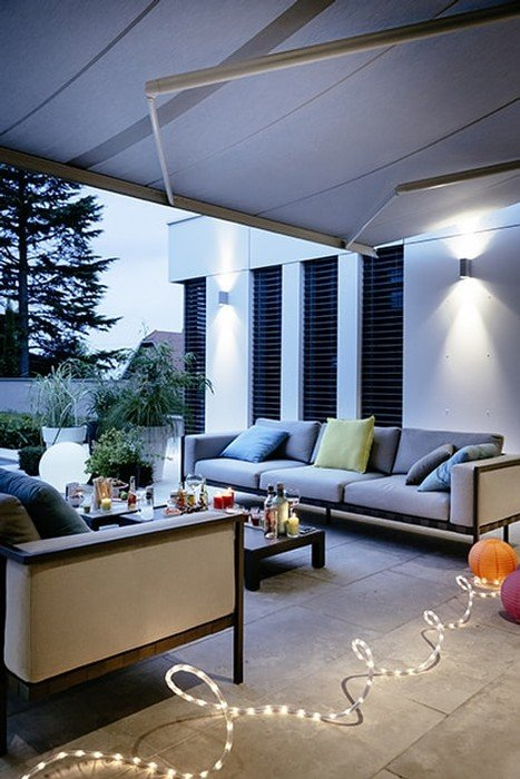 Electric patio awnings to enjoy outdoor life!