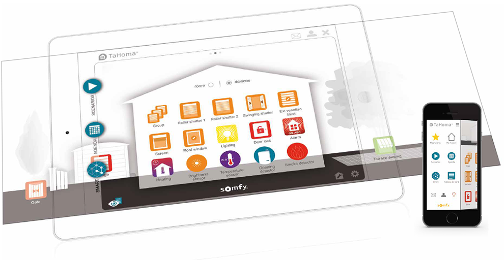 somfy tahoma box home automation specialists. Black Bedroom Furniture Sets. Home Design Ideas